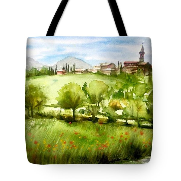 A View From Tuscany Tote Bag