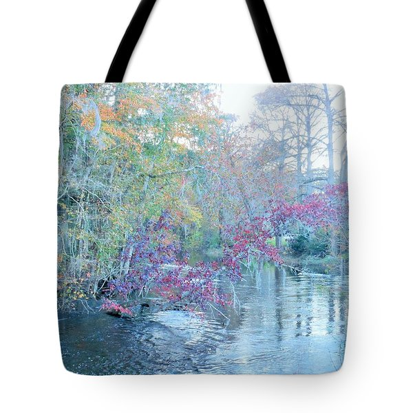 Tote Bag featuring the photograph A View Of Autumn by Kay Gilley