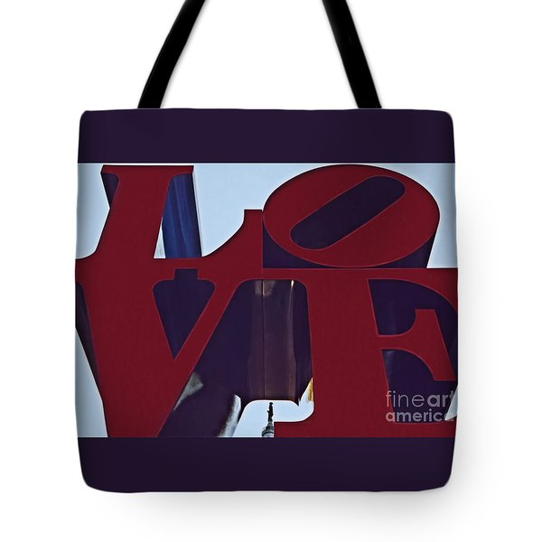A View Of Bill Penn Tote Bag