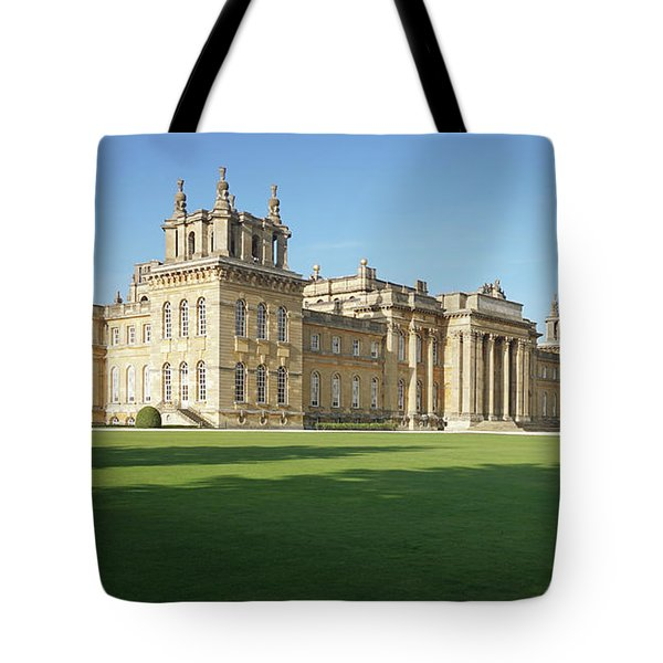 A View Of Blenheim Palace Tote Bag