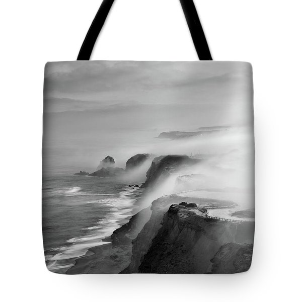 A View Of Gods Tote Bag by Jorge Maia