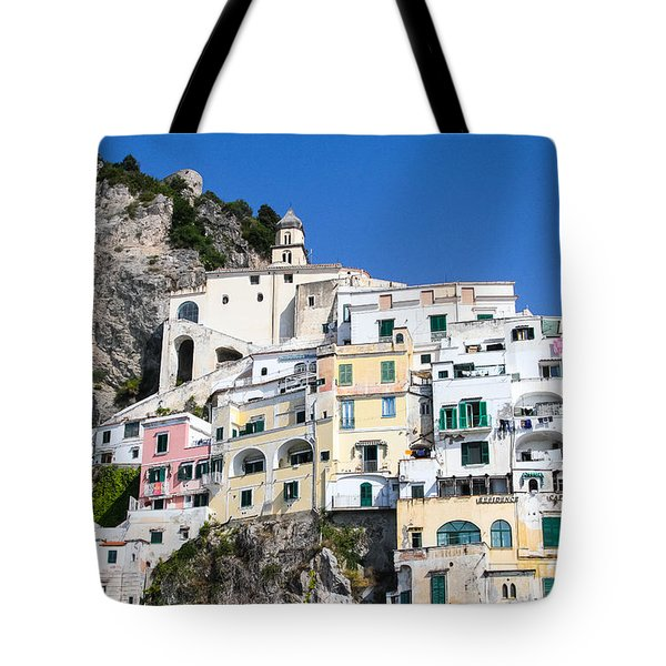 A View Of The Adratic Sea Tote Bag