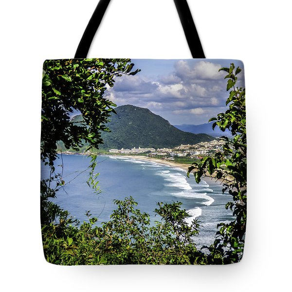 A View Of The Beach Tote Bag