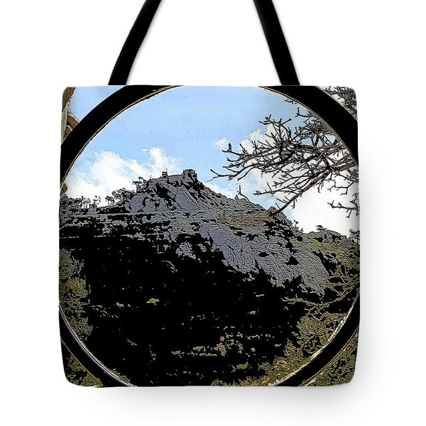 A View Of The Moorish Castle Tote Bag