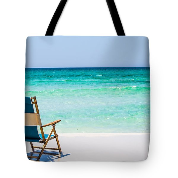 A View Of The Ocean Tote Bag by Shelby  Young