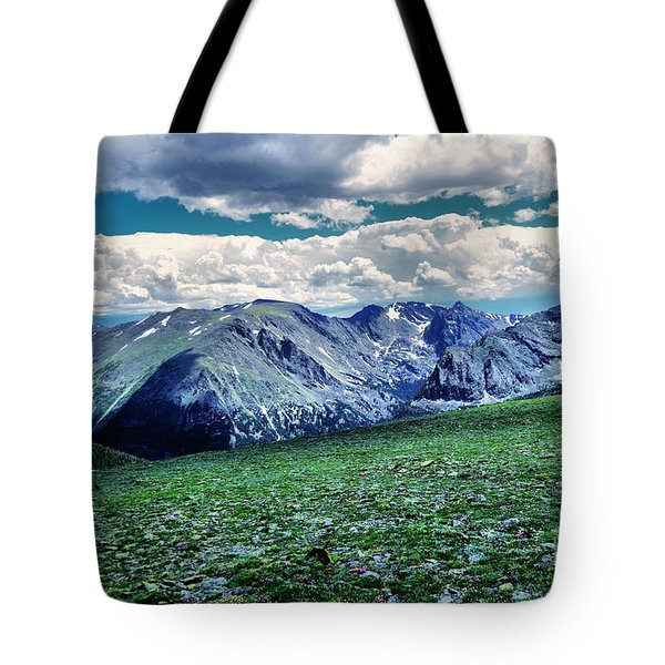 A View Of The Rockies Tote Bag