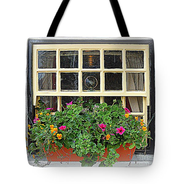 A View Of The World Tote Bag by Anne Gordon