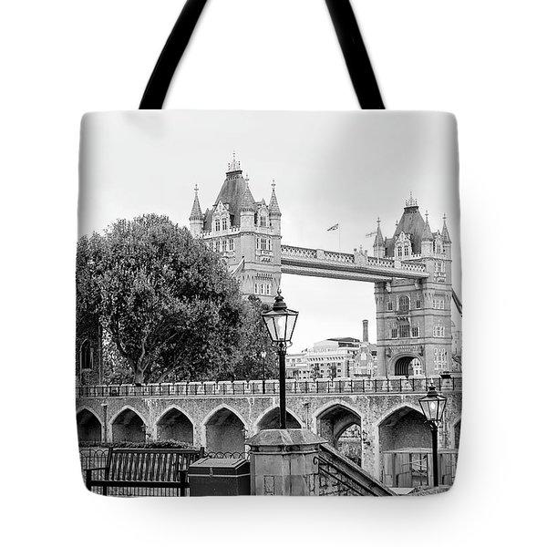 A View Of Tower Bridge Tote Bag