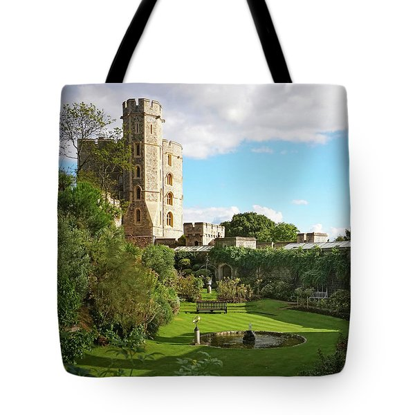 A View Of Windsor Castle Tote Bag
