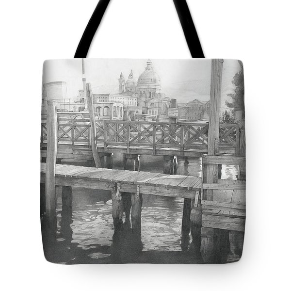 A View On The San-salute Tote Bag