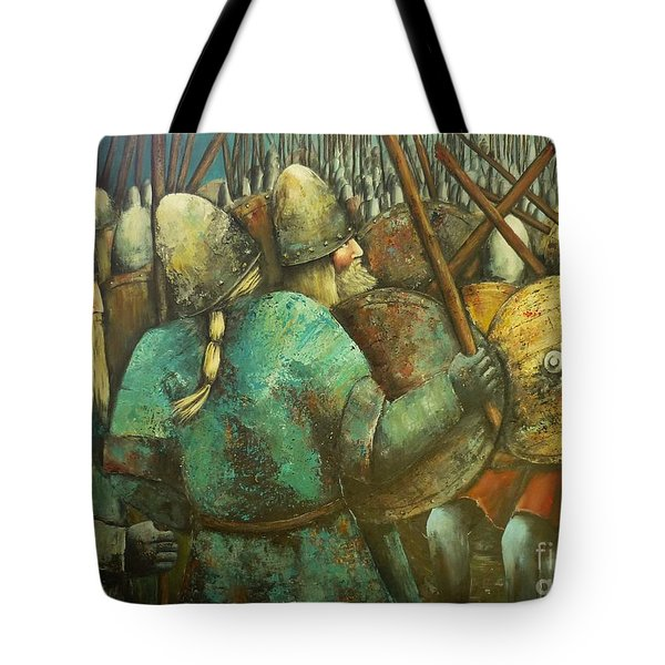 A Viking Skirmish Tote Bag