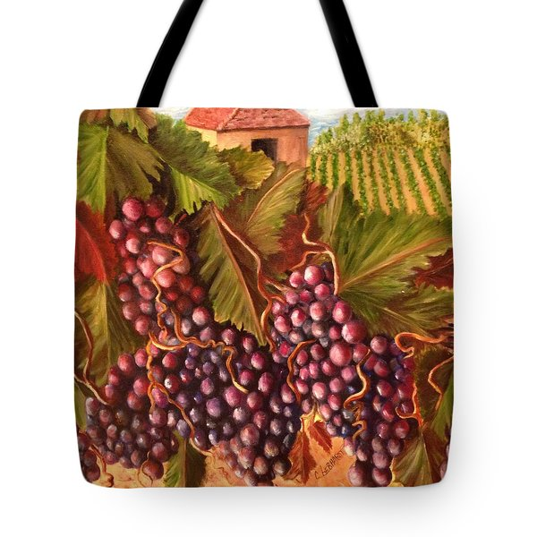 A Vineyard  Tote Bag