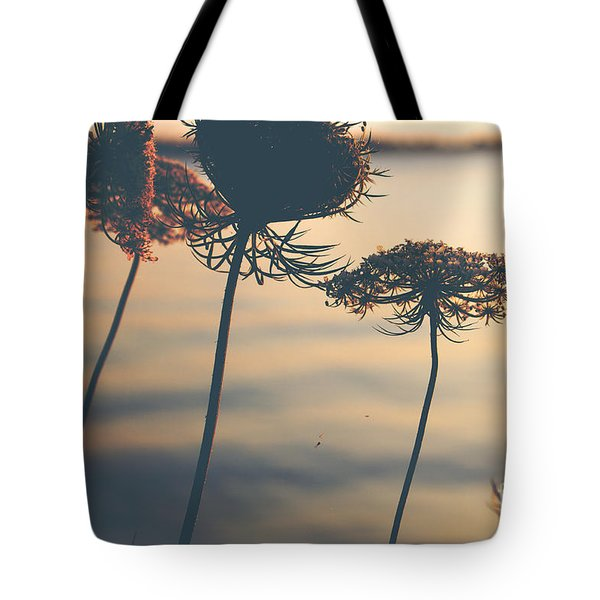 A Vintage Sunset Tote Bag by Rebecca Davis