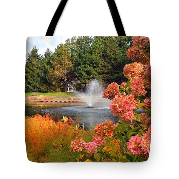A Vision Of Autumn Tote Bag