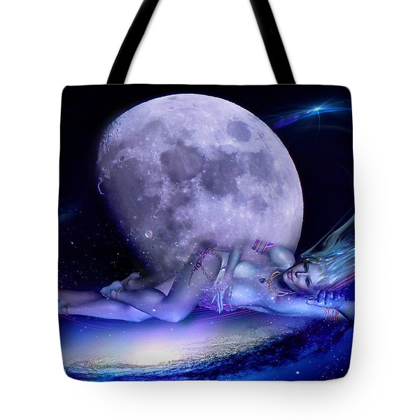 A Visit From Venus Tote Bag