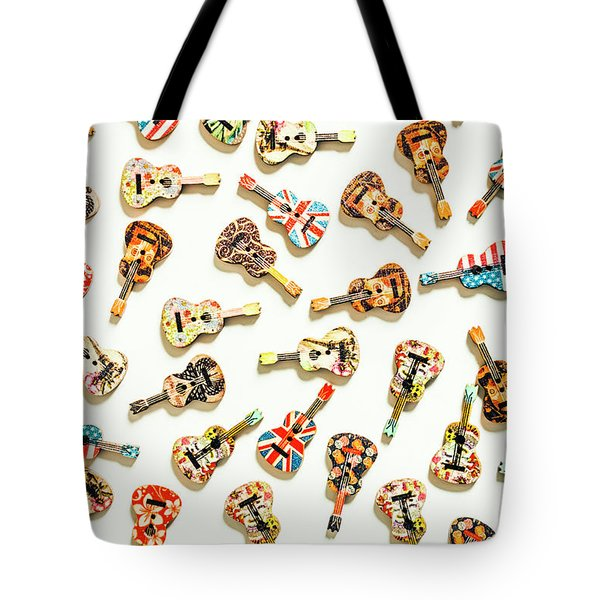 A Visual Play In Music Tote Bag