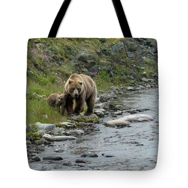 A Walk Along The Creek Tote Bag