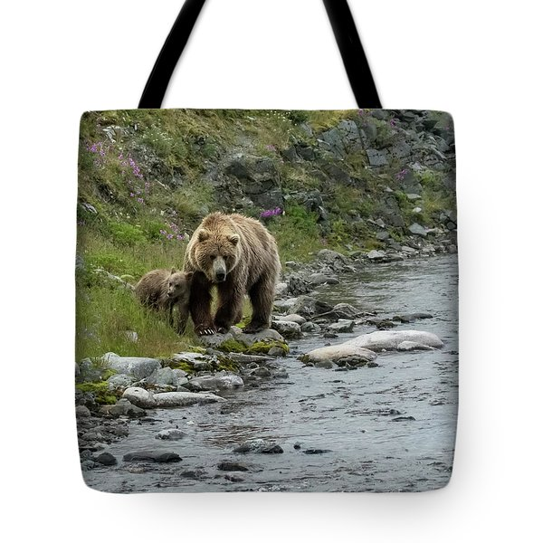 A Walk Along The Creek Tote Bag