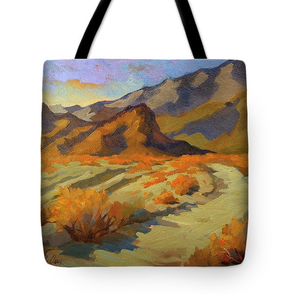 A Walk In La Quinta Cove Tote Bag by Diane McClary