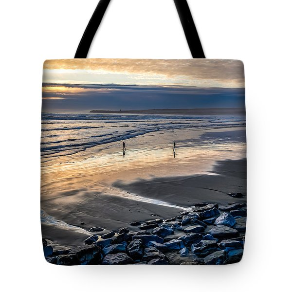 A Walk In The Evening Tote Bag