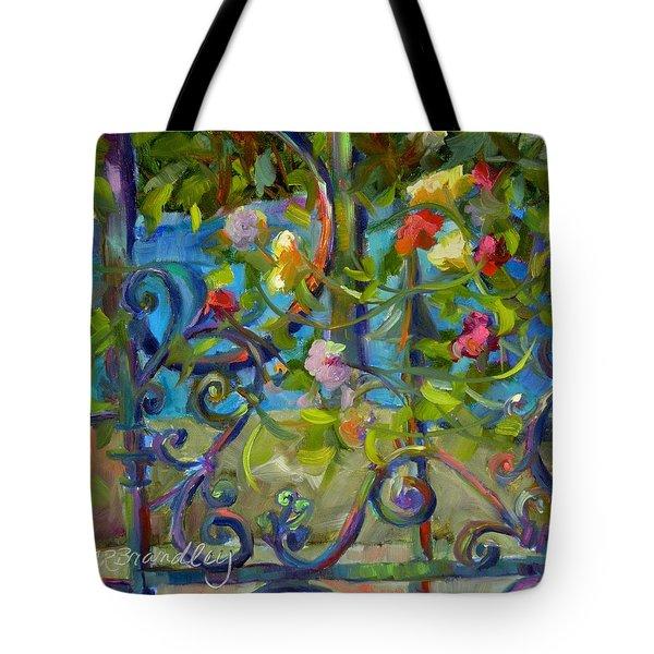 A Walk In The Garden Tote Bag