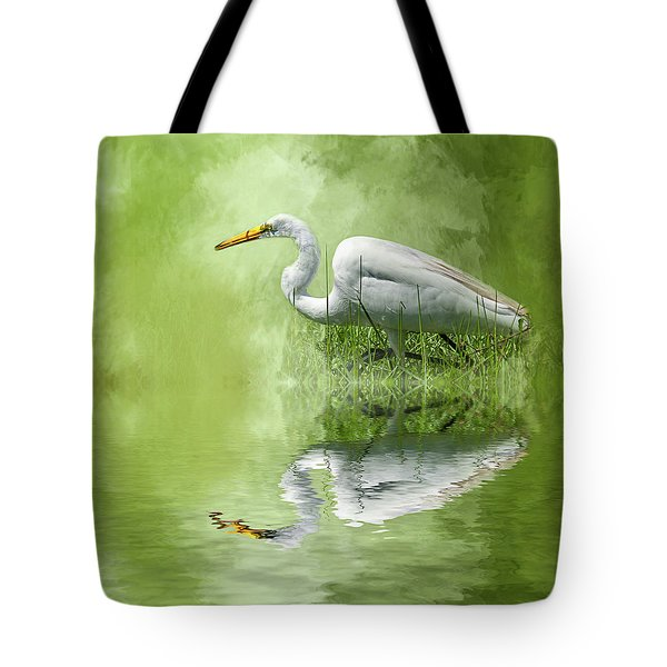 A Walk In The Marsh Tote Bag by Cyndy Doty