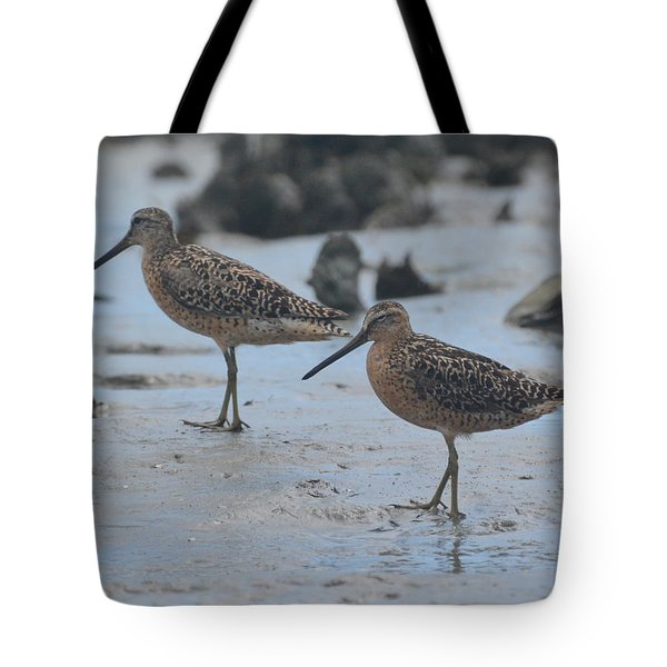 A Walk In The Mud... Tote Bag