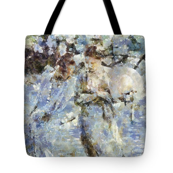 A Walk In The Park Tote Bag by Shirley Stalter