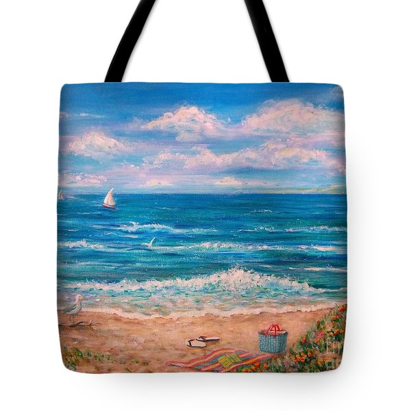 A Walk In The Sand Tote Bag