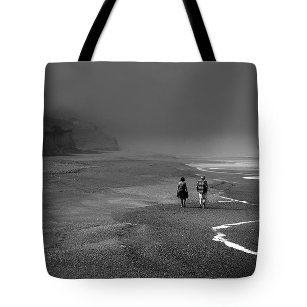 A Walk Tote Bag by Mark Alder