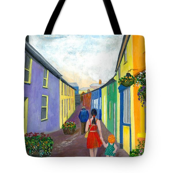 A Walk On The Bright Side Tote Bag by Veronica Rickard