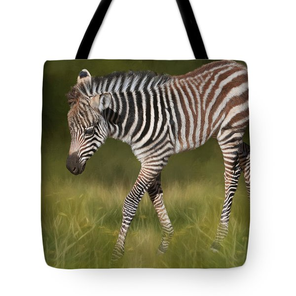 A Walk On The Wild Side Tote Bag by Donna Kennedy