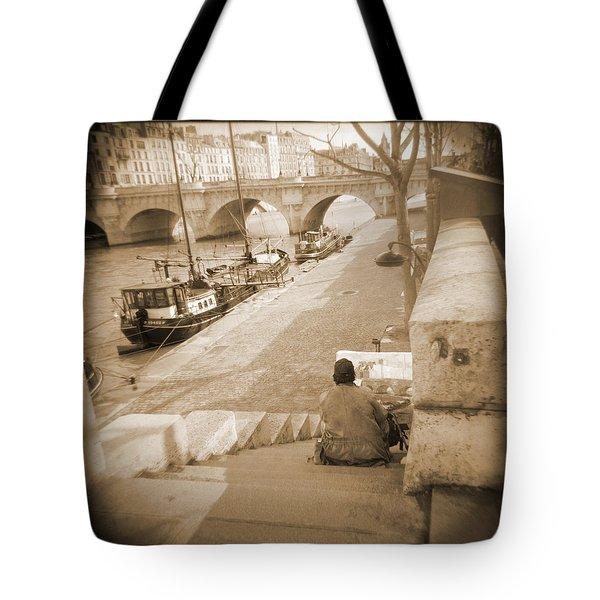 A Walk Through Paris 1 Tote Bag by Mike McGlothlen