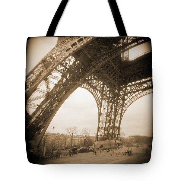 A Walk Through Paris 13 Tote Bag by Mike McGlothlen