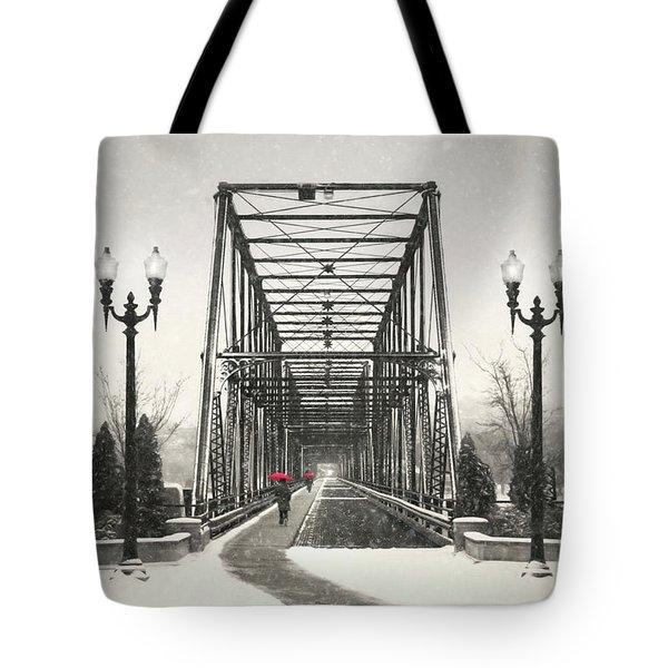 A Walk Through Time Tote Bag by Lori Deiter