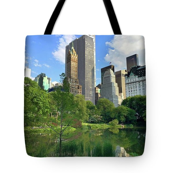 A Walk Thru Central Park Tote Bag