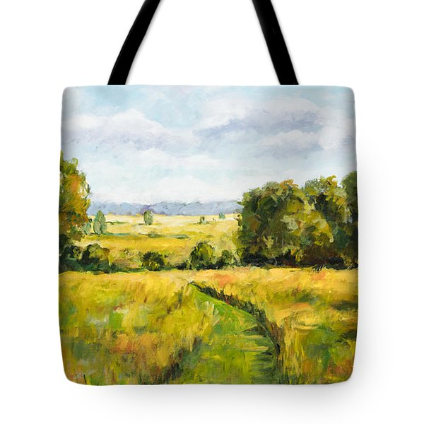 A Walk Thru The Fields Tote Bag