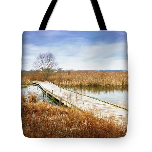 A Warm Day In February Tote Bag