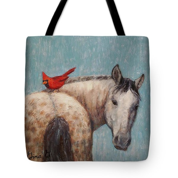 A Warm Ride Tote Bag