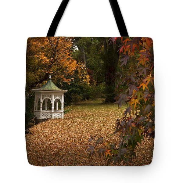 A Washington Crossing Autumn Tote Bag