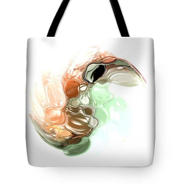 A Wave Of Color Tote Bag