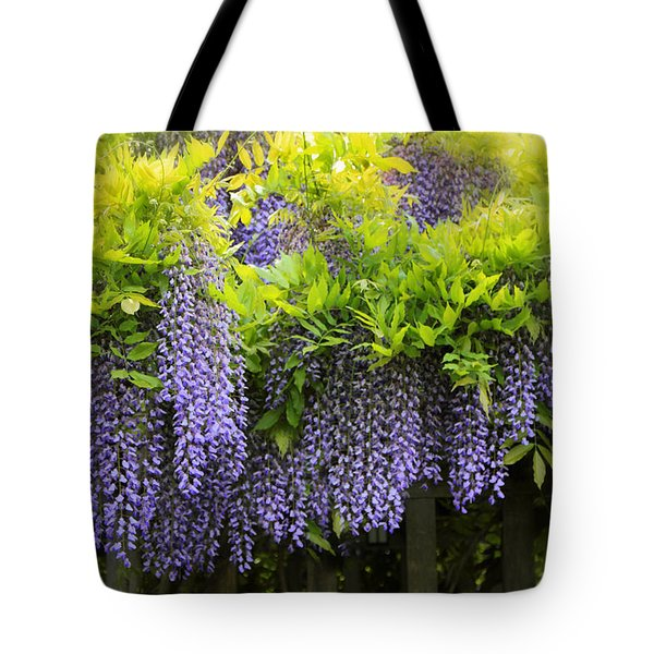 A Wealth Of Wisteria Tote Bag