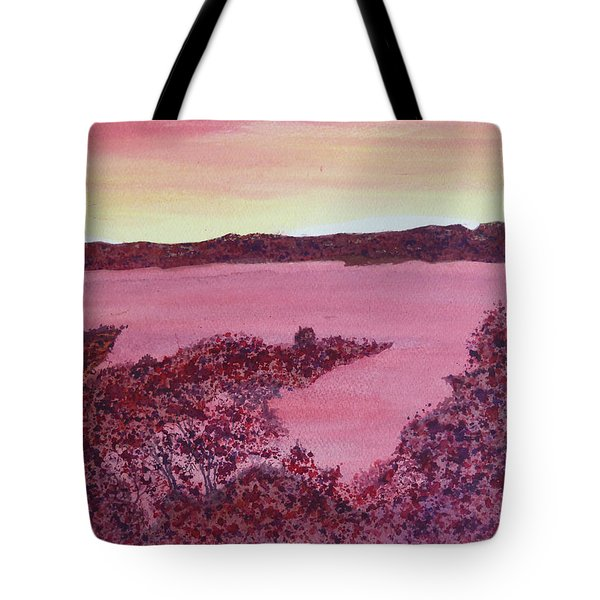 Tote Bag featuring the painting A Wee Bit O Heaven  by Joel Deutsch