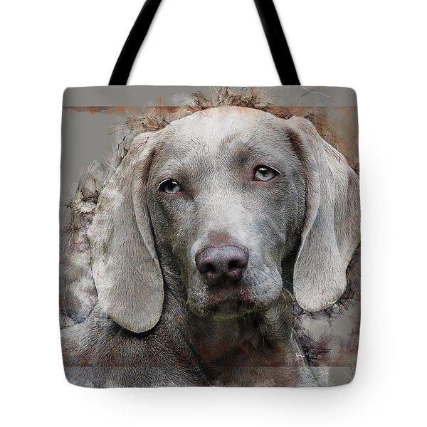 A Weimaraner Tote Bag