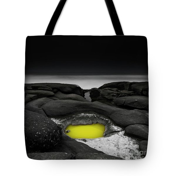 A Weird Tide Pool Tote Bag