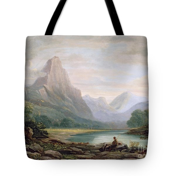 A Welsh Valley Tote Bag by John Varley