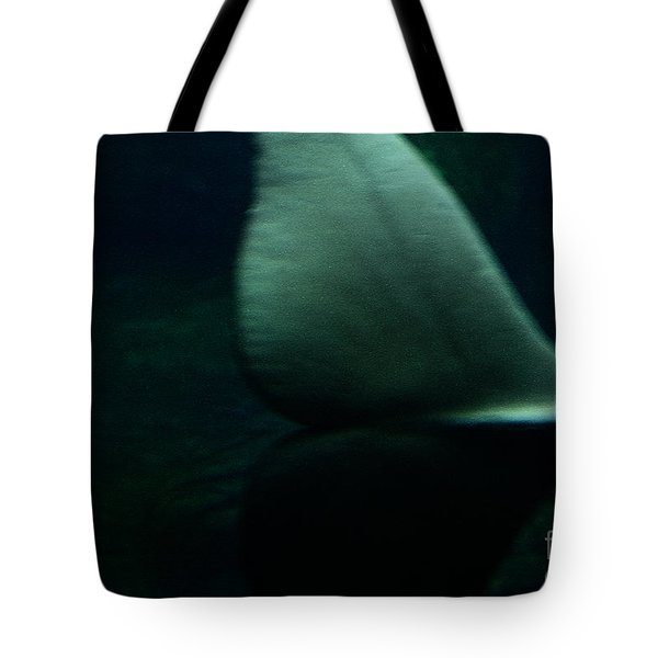 A Whale's Tale Tote Bag by Linda Shafer