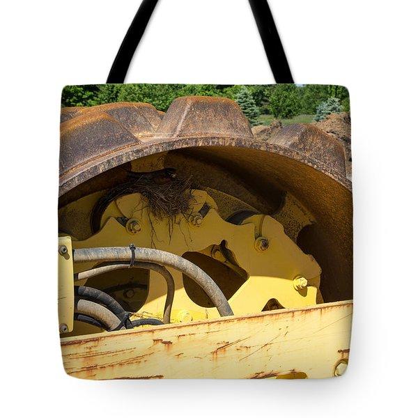 A Wheel Dilema Tote Bag