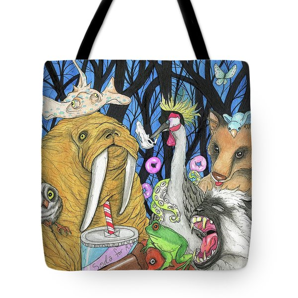 A Whisper To A Roar Tote Bag