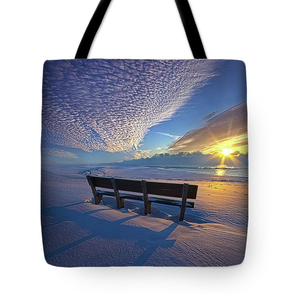 A Whole World In Front Of Us Tote Bag